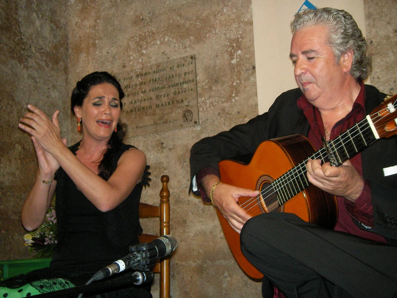 Sonia Miranda en una pasada actuación en El Taranto