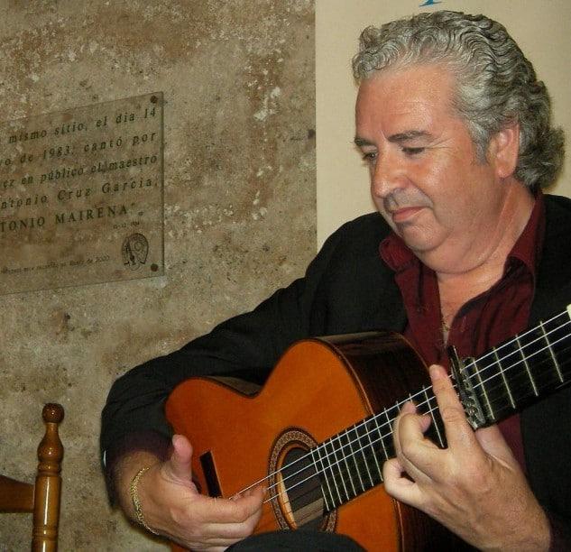 Paco Cortes en El Taranto